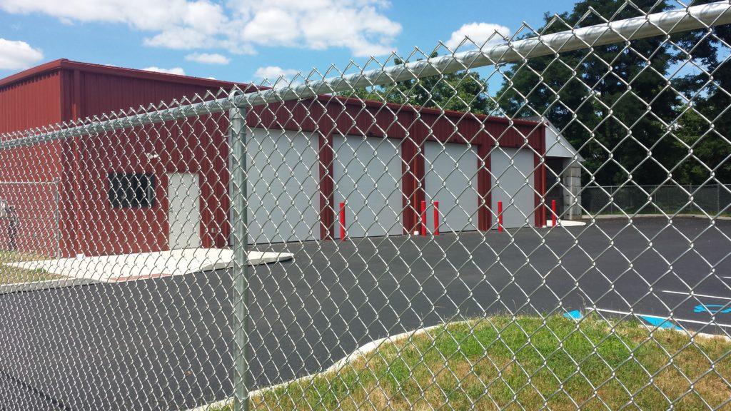 Maintenance Garage - Exterior