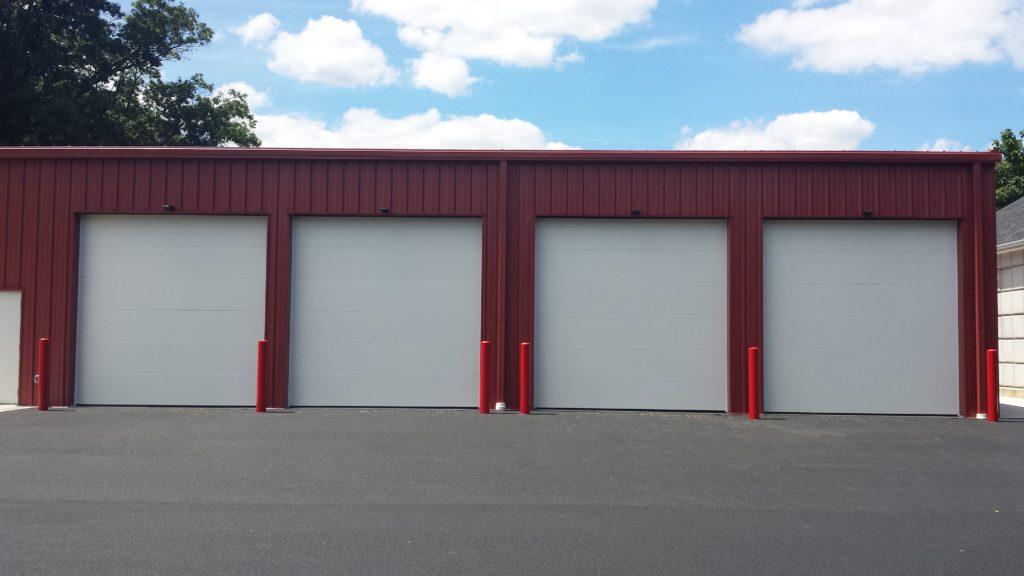 Maintenance Garage - doors